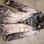 Продам зимнее детское пальто на девочку б/у на рост 152 см., Новосибирск