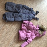 Костюм (куртка +штаны) зимний на девочку NELS 86 р-р, Новосибирск