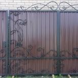 продам кованые ворота, Новосибирск