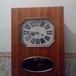 """настенные часы """"Янтарь"""" с маятником. СССР, Новосибирск"""