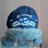 Продам зимнюю шапку для мальчика 2-3 лет, Новосибирск