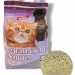 Наполнитель сибирская кошка для котят комкующийся, Новосибирск
