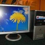 Компьютер (системный бло + монитор ЖК), Новосибирск