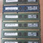 Cерверная память 2GB 2Rx8 PC3-10600E 500209-061, Новосибирск