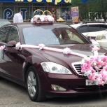 """Комплект свадебных украшений на машину """"Принцесса"""", Новосибирск"""