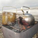 Армейские костровые чайники. Наборы прочной посуды для охоты -рыбалки, Новосибирск