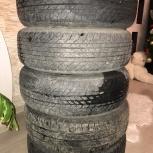 Резина вместе с дисками 195/70 r14 + запаска, Новосибирск