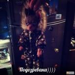 """Продам комбезик для  маленькой собачки, на зиму """"Луи Вуитон""""!, Новосибирск"""