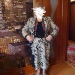 Костюм шикарный деловой шерсть натуральная 50-52, Новосибирск