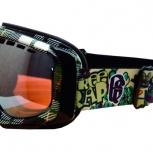 """продам новые горнолыжные маски """"под очки для коррекции зрения"""", Новосибирск"""