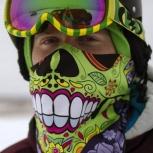 банданы, (балаклавы) для сноубордистов с различными принтами, Новосибирск