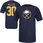 Новая детская футболка хоккей reebok NHL Buffalo Sabres Ryan Miller, Новосибирск