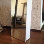 Шкаф навесной зеркальный в ванную (новый), Новосибирск