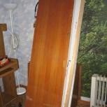 двери б/у межкомнатные шириной 60 и 70 см, Новосибирск