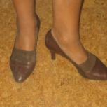 туфли деми коричневые, Новосибирск