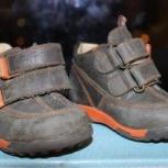 """Продам демисезонные ботиночки """"Котофей"""", 19 размер, Новосибирск"""