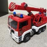 Пожарный автокран bruder MAN (Брудер), Новосибирск