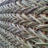 Плетеный забор, Новосибирск