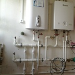 Монтаж отопления водоснабжения канализации в доме коттедже, Новосибирск