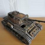 Модель танка PzKpfw IVH в масштабе 1/35 от звезды, Новосибирск