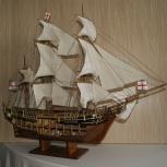 Модель парусника Bounty (Баунти), Новосибирск