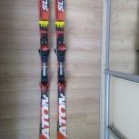 Продам лыжи Atomic SL, Новосибирск