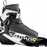 Продам лыжные ботинки Salomon RS carbon skate, Новосибирск