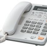 Проводной телефонный аппарат Panasonic KX-TS2570RU, Новосибирск