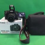 Зеркальный фотоаппарат Canon 600D kit, Новосибирск