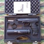 Продам UMAREX Walther PPQ Navy, Новосибирск