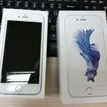 смартфон Apple iPhone 6s Silver на 16Гб, идеальное состояние, Новосибирск