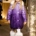 Зимнее теплое пальто lenne ленне kerry на девочку, Новосибирск