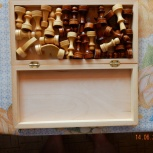 Классические деревянные шахматы 30х30, Новосибирск
