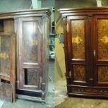 Реставрация антикварной мебели,скульптур,коллекционных изделий., Новосибирск