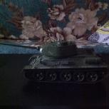 Продам подробный макет танка Т-34, Новосибирск