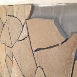 Природный камень для облицовки стен и укладки на пол, м2, Новосибирск