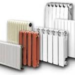 Радиаторы отопления. Аллюминий, Биметалл, Чугун, Новосибирск