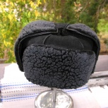 Продам новую дубленую шапку, Новосибирск