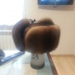 Продам шапку ушанку норковую, Новосибирск