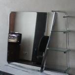 зеркало с полочками для ванной комнаты, Новосибирск