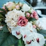 Продам свадебный букет на машину, Новосибирск