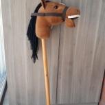 Игрушка - лошадка на палочке, Новосибирск