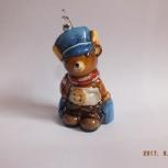 Продам елочную игрушку на елку komozja  Мишка в перчаткаъ, Новосибирск
