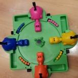 Продам детскую игру Zoo бильярд бегемотики, Новосибирск