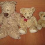 Семья медведей - папа мама я - игрушки мягкие б/у, Новосибирск