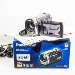 Видеокамера Panasonic HDC-SD60 + бонусы, Новосибирск