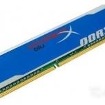 Продам память DDR3 Kingston, Новосибирск