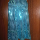 Платье для девочки из пайеточной ткани, Новосибирск