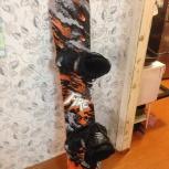 Сноуборд комплект, ростовка 167 ботинки  р.45, Новосибирск