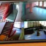 Видеонаблюдение, домофоны, сигнализации. Установка видеонаблюдения., Новосибирск